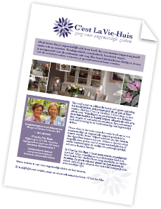 A5 Brochure april2017 Cest La Vie-Huis