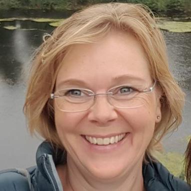 Anita Posthumus coördinator in het C'est la Vie-huis
