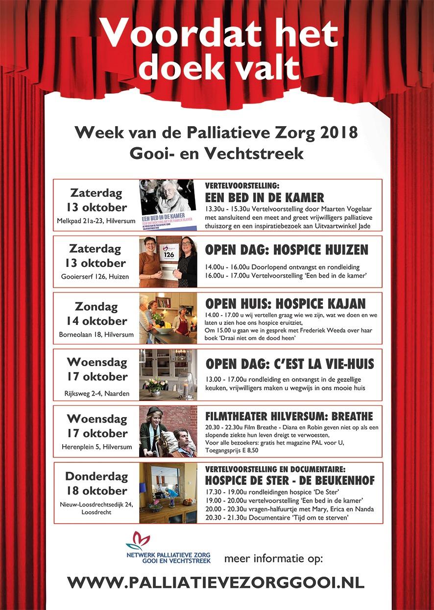 Week Vd Palliatieve Zorg 2018 Gooi- En Vechtstreek
