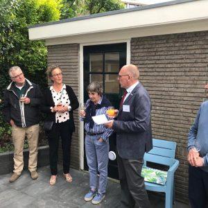 Tuinborrel Nieuwe Achtertuin Van C'est La Vie-Huis